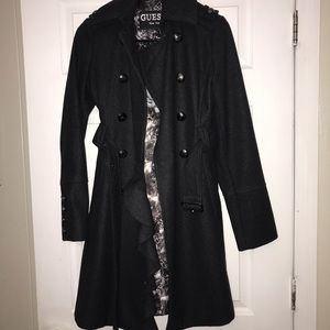 Guess trench coat.